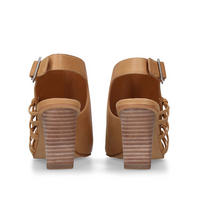 Ankara Sandal Brown