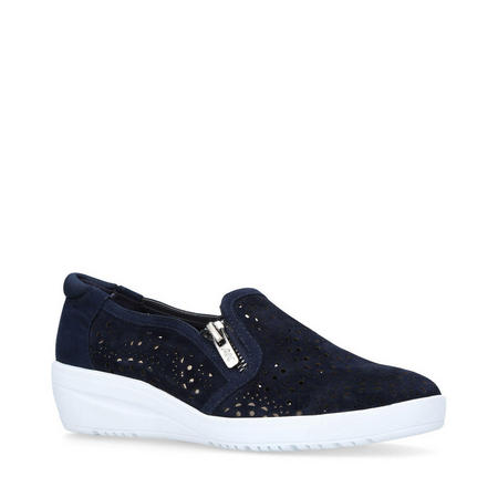 Yvette Trainers Navy