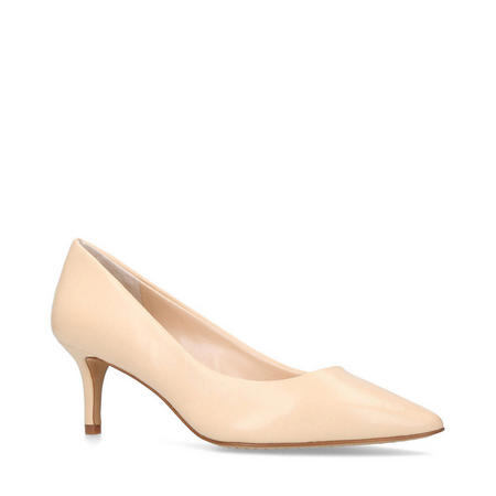 Kemira Court Shoes Nude