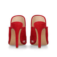 Kizzia Mules Red