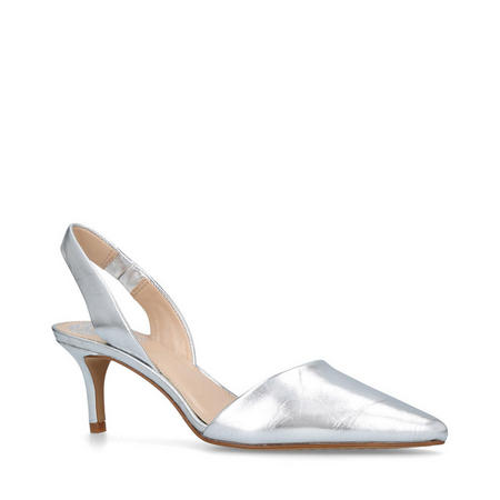 Kolissa Pump Shoes Silver