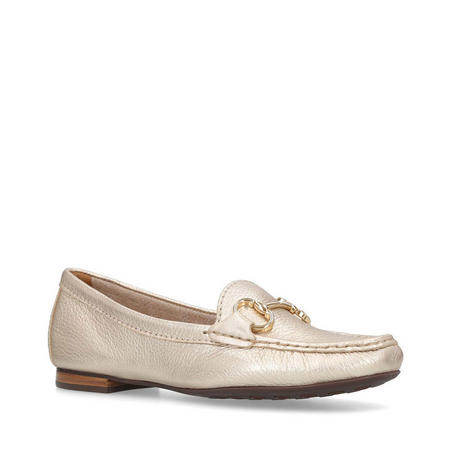 Cindy Loafers Gold-Tone