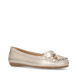 Chloe Loafers Gold-Tone
