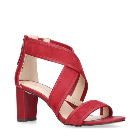 Pearlita Sandal Red