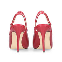 Tabbae Court Shoes Red
