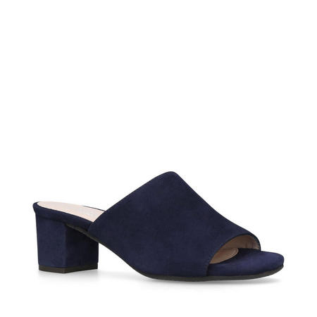 Abby Mule Shoes Navy