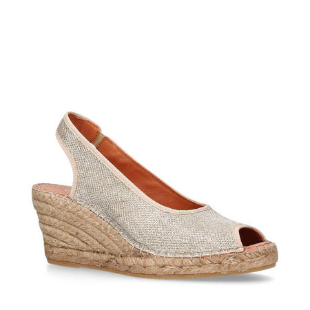 Sharon Wedges Gold-Tone