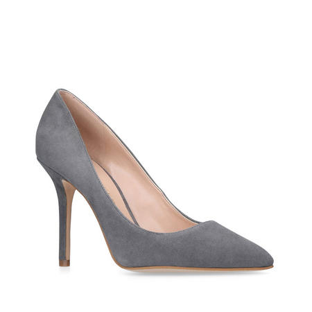 Mayfair Court Shoe Grey