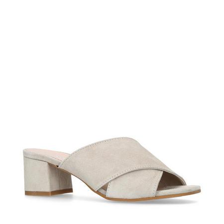 Sienna Mule Shoes Grey