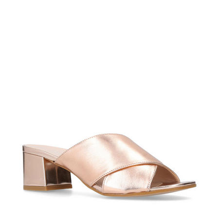 Sienna Mule Shoes Metallic
