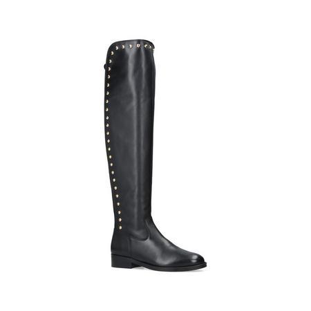 Volt Knee High Boot Black