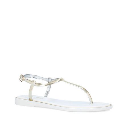 Delta Sandals White