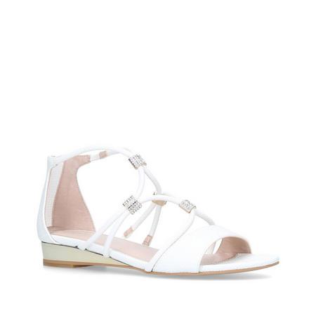 Locket Sandals White