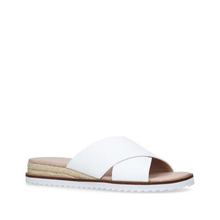 Banish Sandal White