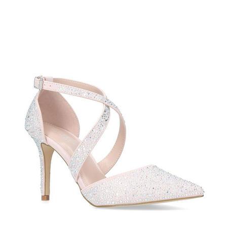 Kross Jewel Court Shoes Brown