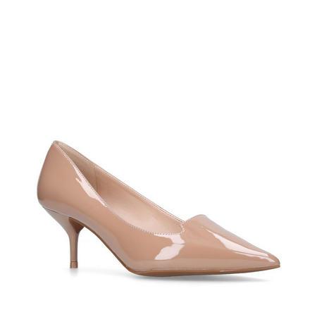 Peony Court Shoe Beige