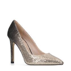 Kash Court Shoes Gold