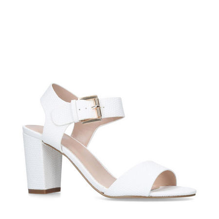Sadie Sandals White