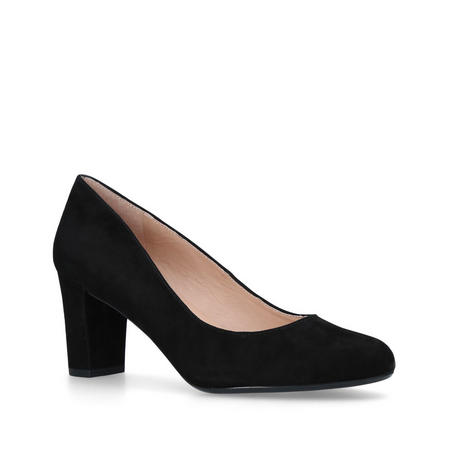 Chester Court Shoe Black