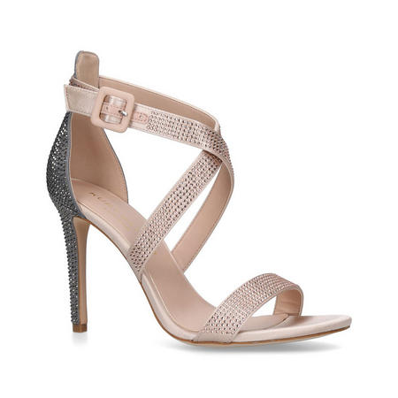 Knightsbridge Jewel Sandal Metallic