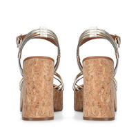 Mistie Sandals Metallic