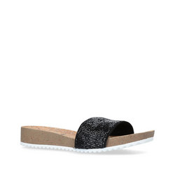Qtee Sandal Black