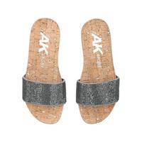 Qtee Sandal Silver