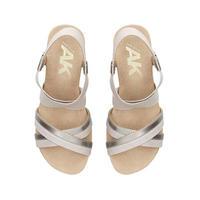 Siesta Sandals Silver-Tone