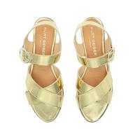 Dahlia Sandal Gold-Tone