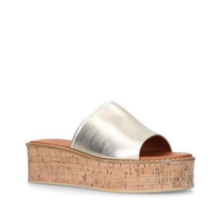 Maci Mule Gold-Tone