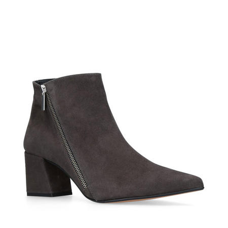 Signet Ankle Boots Grey