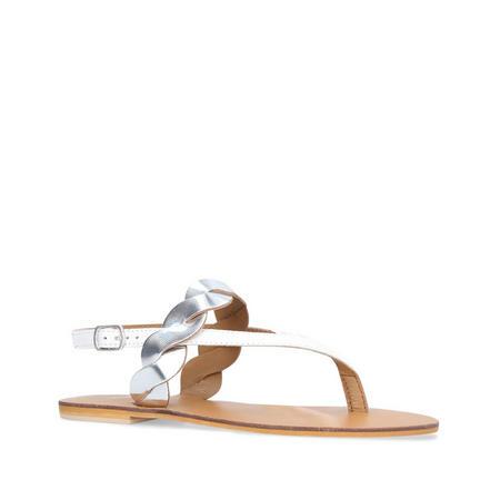 Auto Sandal White