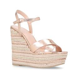 Sheen Sandal Metallics