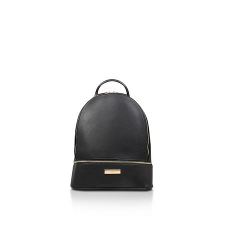 Suzie Zip Backpack Black