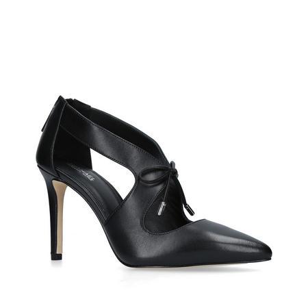 Romee Cutout Tie  Bootie Court Shoe