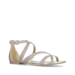 cd7b8a4ee0a Carvela Bee Sandal Gold Now €20.00. Was €80.00