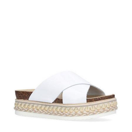 Kake Sandals White