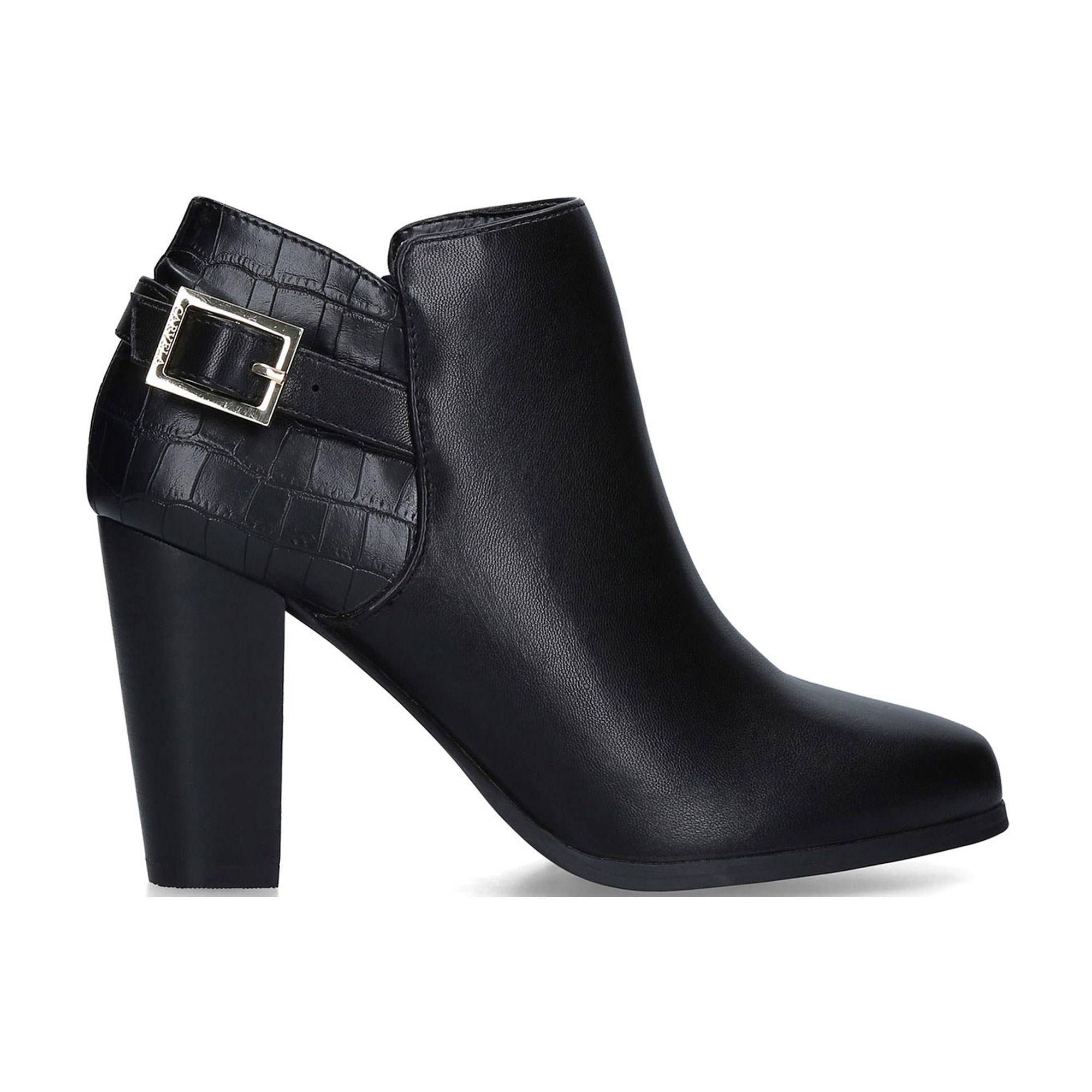 58003433400979BLACK: Shoot Ankle Boots