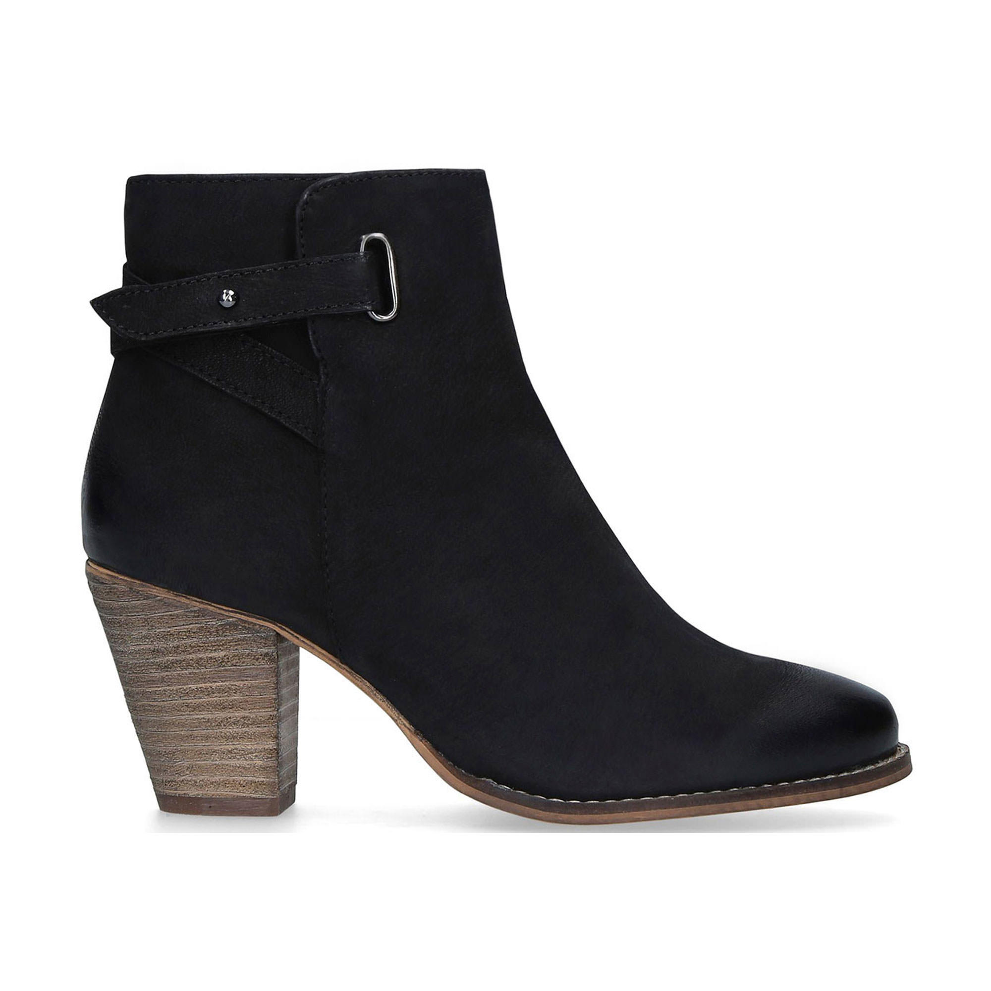 58004033800109BLACK: Wide Fit Smart Ankle Boots