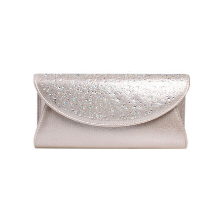Delilah Jewel 2 Clutch Bag Silver