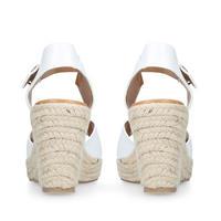 Paisley Sandal White