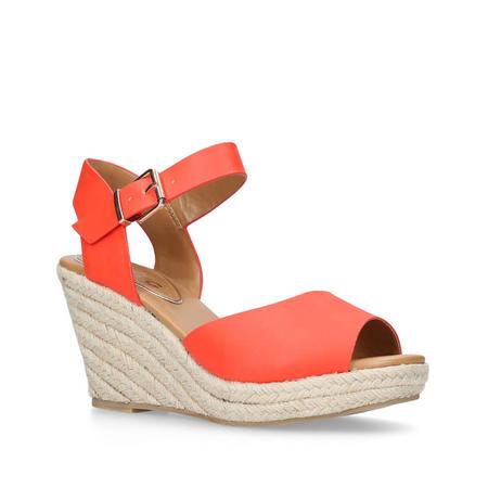 Paisley Sandal Orange