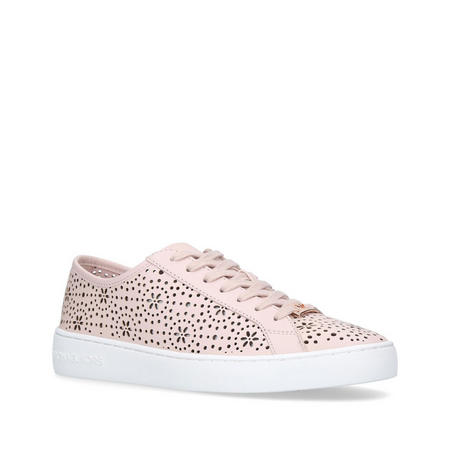 Keaton Lace Up Trainer Pink
