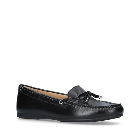 Sutton Moc Ballet Pump Black