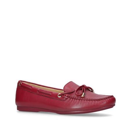 Sutton Moc Ballet Pump Red