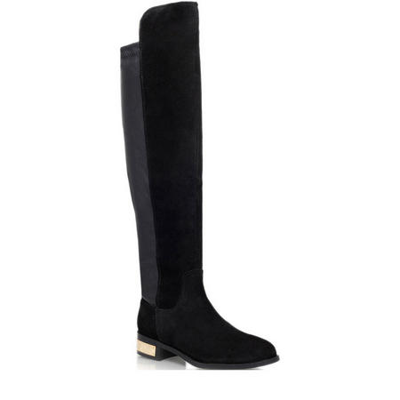 Pacific Knee High Boot Black