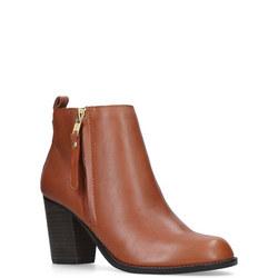 Tanga Ankle Boot Brown