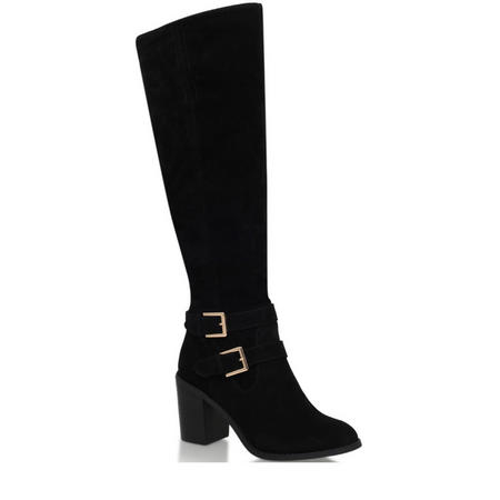 Harriet High Leg Boot Black
