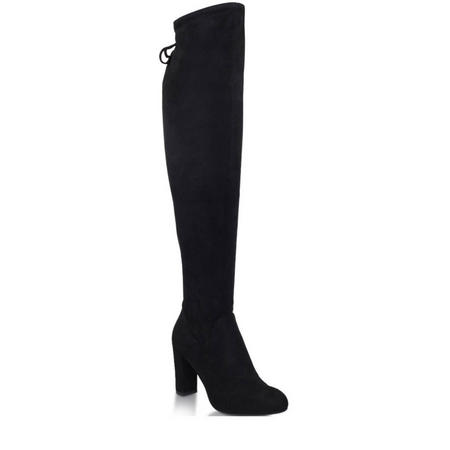 Pace Over the Knee Boots Black