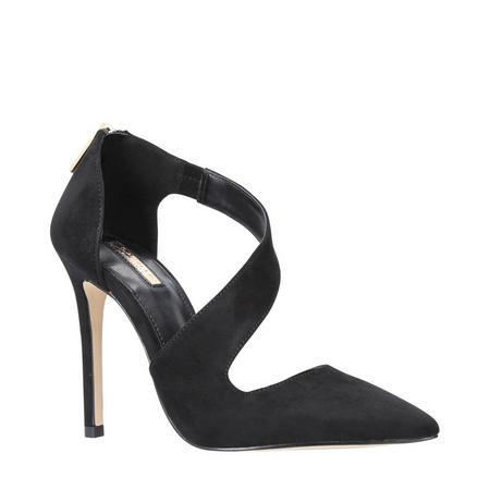 Achilles Pointed Toe Shoe Black